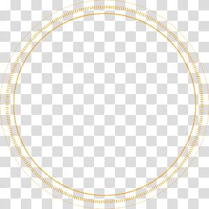 Garis Titik Sudut, lingkaran bertitik, ilustrasi lingkaran oranye png