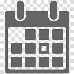 ilustrasi kalender abu-abu, ikon komputer simbol kalender, kalender PNG clipart