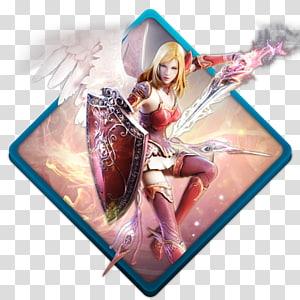 tangkapan layar aplikasi game online, karakter fiksi, Aion templar png