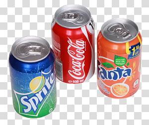 beberapa kaleng soda, minuman ringan Coca-Cola Orange Diet Coke, Soda Can PNG clipart