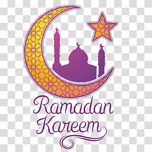 Ramadan Moon Islam, bintang bulan, rambu Ramadhan Kareem PNG clipart