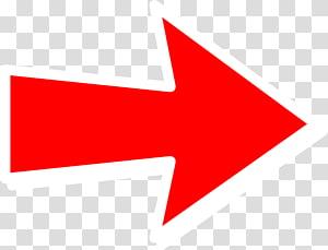 panah merah, panah, panah kanan merah PNG clipart