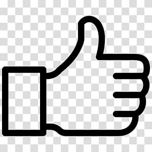 Media sosial Sinyal jempol Tombol suka Ikon Komputer Simbol, Jempol ke atas png