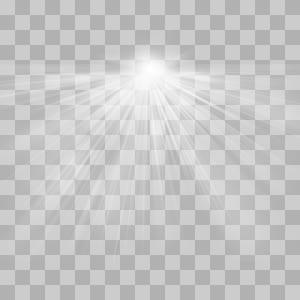 Pola Siang Hari Simetri Hitam dan Putih, Efek cahaya radioaktif, skala abu-abu selang waktu png