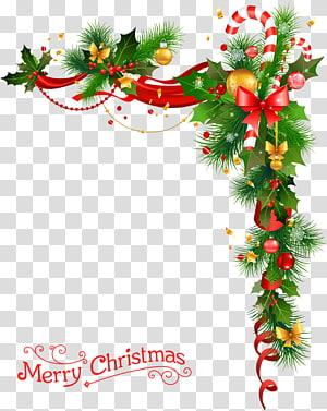 Natal hijau, hiasan Natal Pohon Natal, karangan bunga Natal dengan lonceng png