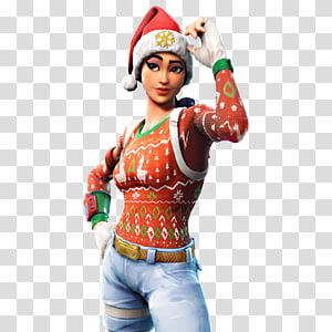 Wanita mengenakan sweter merah, fortnite battle royale playstation 4 battle royale game, video game fortnite PNG clipart