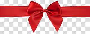ilustrasi pita merah, Red Bow, Red Bow Decoration png