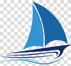ilustrasi perahu layar biru, Piagam Kapal layar Berlayar, Berlayar png
