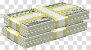 Uang kertas 100 dolar AS, Uang Kertas Dolar Amerika Serikat, Bundel Dolar png