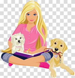 Barbie: Buku Mewarnai Princess Charm School, Barbie, Barbie ilustrasi png