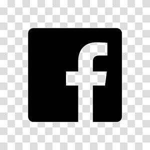 ikon komputer logo facebook, ikon hitam dan putih PNG clipart