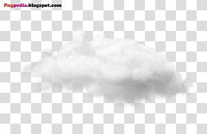 Pola Cloud Cloud hitam dan putih, File Awan, awan putih png