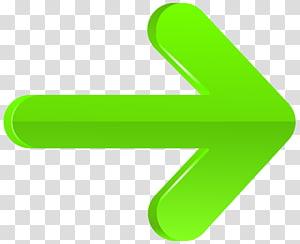 ilustrasi logo kanan panah hijau, Tangan Hijau, Panah Kanan Hijau PNG clipart