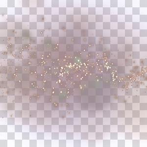 Pink Glitter Pattern, efek cahaya malam Starlight, seni lampu png