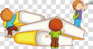 anak-anak dan buku, Ilustrasi Buku Anak, Buku Pelajaran Anak Belajar Kartun Poster Materi Promosi png