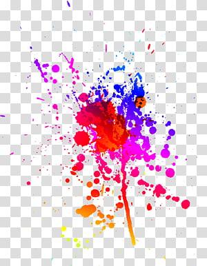 Euclidean, Paint splash png
