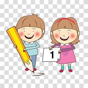 ilustrasi anak laki-laki dan perempuan, Belajar keterampilan Belajar Anak, Belajar Anak yang Bahagia png
