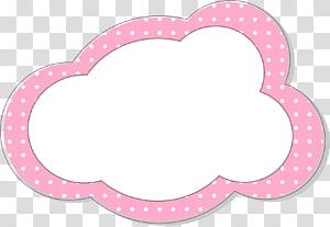 ilustrasi pesan awan merah muda, file Komputer Adobe Illustrator, Batas awan merah png
