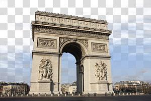Arc de Triomphe Champs-xc9lysxe9es Menara Eiffel Notre-Dame de Paris Place de la Concorde, Prancis Arc de Triomphe s png