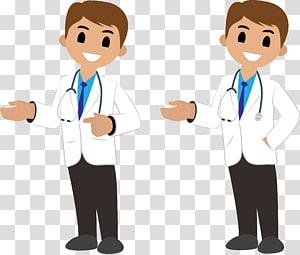 dua dokter, Dokter Stetoskop, dokter dengan stetoskop png