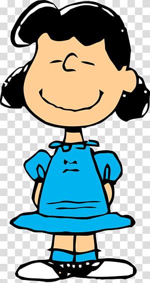 gadis berambut hitam, Lucy van Pelt Charlie Brown Linus van Pelt Sally Snoopy, Kartun s Dari Pengganggu png