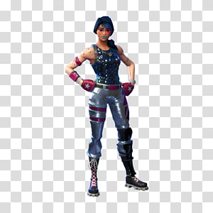 karakter fortnite perempuan, fortnite battle royale | fortnite mobile | playstation 4, parasut biru PNG clipart
