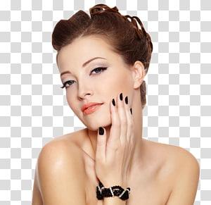 wanita mengambil selfie, Model Kuku Gaya Rambut Salon Kecantikan Mode, Eropa dan Amerika fashion wanita cantik PNG clipart