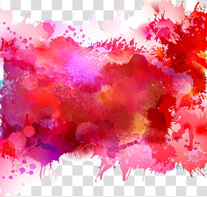 Lukisan Cat Air Ilustrasi, cat air, ilustrasi abstrak png