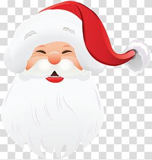 Ilustrasi Santa Claus, Wajah Natal Santa Claus, Wajah Santa Claus png