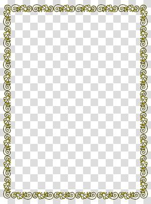 ilustrasi bingkai kuning dan coklat yang digulir, Pratinjau, Batas profil png