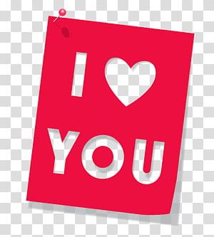 Love Icon File komputer, Merah I Love You, aku mencintaimu png