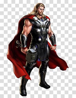Ilustrasi Marvel Thor, Marvel: Avengers Alliance Marvel Ultimate Alliance 2 Thor Iron Man Hulk, MARVEL png