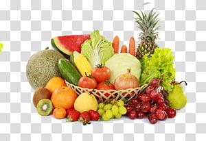 Sayuran Buah Makanan Apple, Buah-buahan dan sayuran Daquan, berbagai buah di atas nampan png