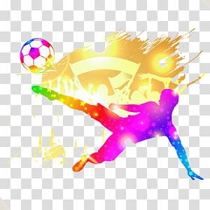 ilustrasi sepak bola, Tokoh sepakbola png