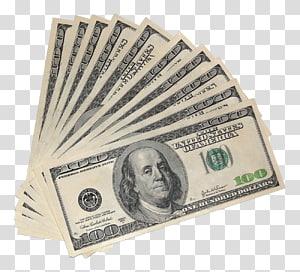 penggemar 100 dolar AS uang kertas, Dolar Amerika Serikat FHA diasuransikan Uang Uang Kertas Amerika Serikat seratus dolar tagihan, Uang Dolar AS png