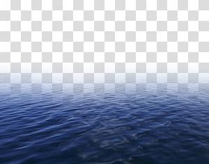 Sumber daya air Blue Sky Sea Pattern, air, badan air png