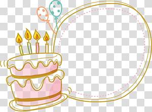 Kue ulang tahun, Perbatasan Kue, seni salam ulang tahun png