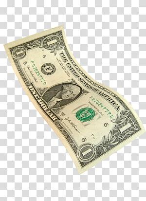 1 dolar AS, uang kertas satu dolar Amerika Serikat, uang kertas Dolar Amerika Serikat, Dolar png