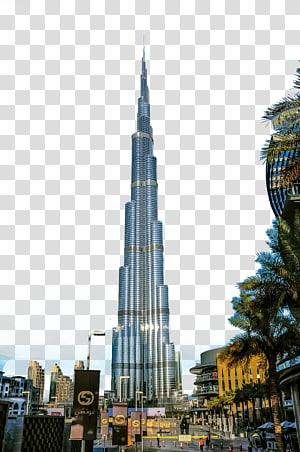 Burj Khalifa, UEA, Gedung Burj Khalifa Dubai, Bangunan Dubai png
