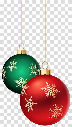 pernak-pernik merah dan hijau, ornamen Natal dekorasi Natal lampu Natal, Hanging Balls Natal png