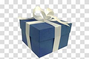 kotak hadiah biru, kotak Hadiah Hias Kertas Biru, kotak hadiah png
