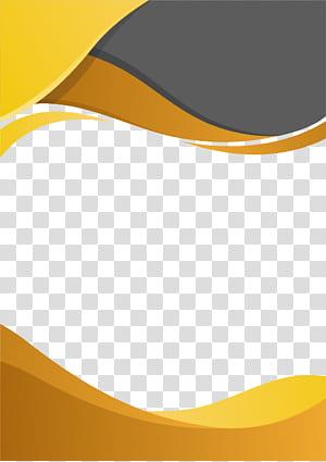 File komputer, Bisnis Perbatasan, bingkai oranye dan abu-abu png