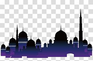 Arsitektur Islam Masjid Al-Quran Muslim, gereja-gereja Islam, ilustrasi masjid PNG clipart
