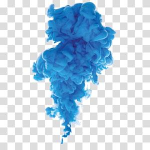 ilustrasi awan biru, resolusi Desktop Smoke 4K Televisi definisi tinggi, asap warna png
