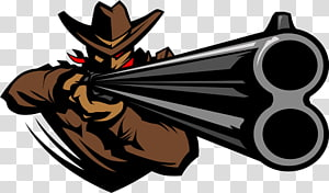 koboi memegang senapan, Shotgun Firearm Cowboy action shooting, Koboi gun PNG clipart