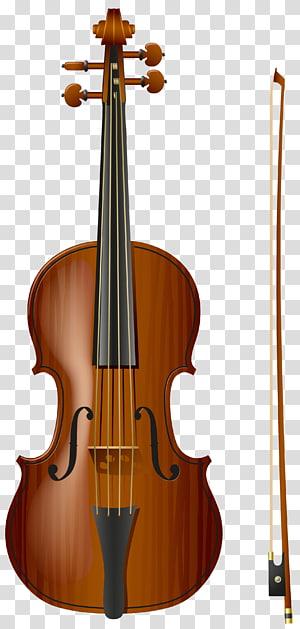 ilustrasi biola coklat, Alat musik String instrumen biola, Biola png