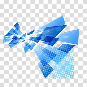 Latar belakang biru modern, ilustrasi biru dan putih png