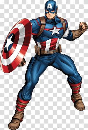 Ilustrasi Captain America, Captain America Superhero Iron Man Luke Cage Red Skull, captain marvel png