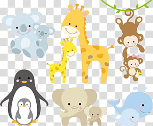 Ilustrasi Giraffe Infant, Animal, aneka ilustrasi hewan animasi png