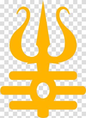 logo suku kuning, Simbol Om Namah Shivaya Ganesha Trishula, lord shiva png